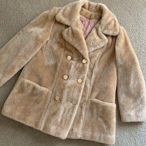 Jackets & Blazers - Vintage Teddy Faux Fur Coat